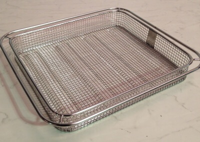 Combination Oven Frying Basket Size: 2/3GN
